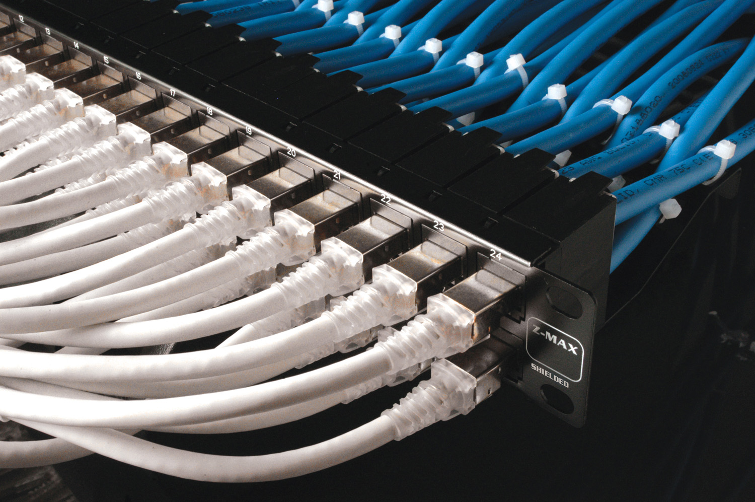 network cabling Network cable systems: reliable, robust voice and data systems easily accommodate network expansion.